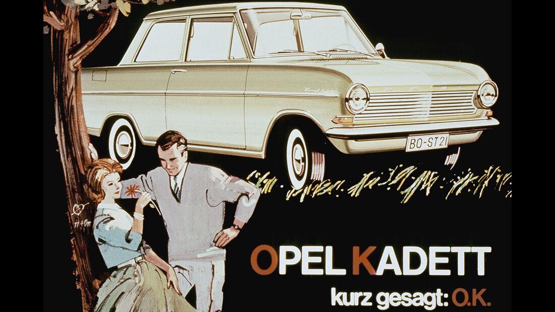 Opel Kadett Werbeanzeige