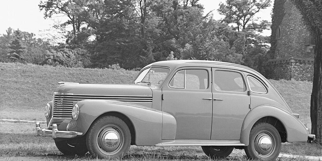 Opel Kapitän, 1948-1950