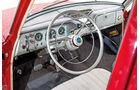 Opel Kapitän, Modell 1956, Cockpit