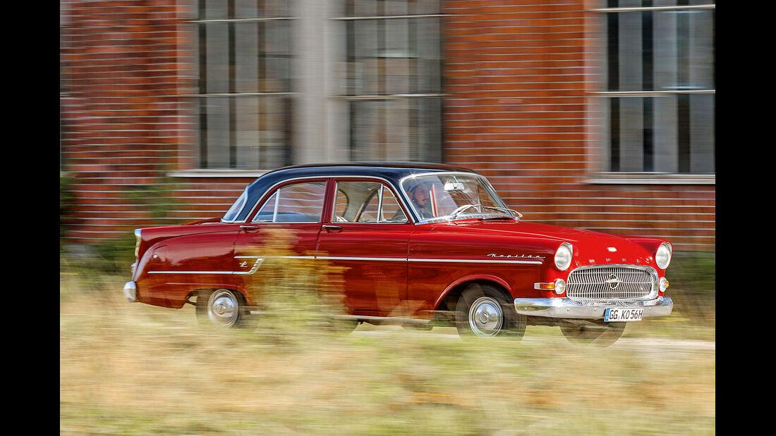 Opel Kapitän, Modell 1956, Seitenansicht