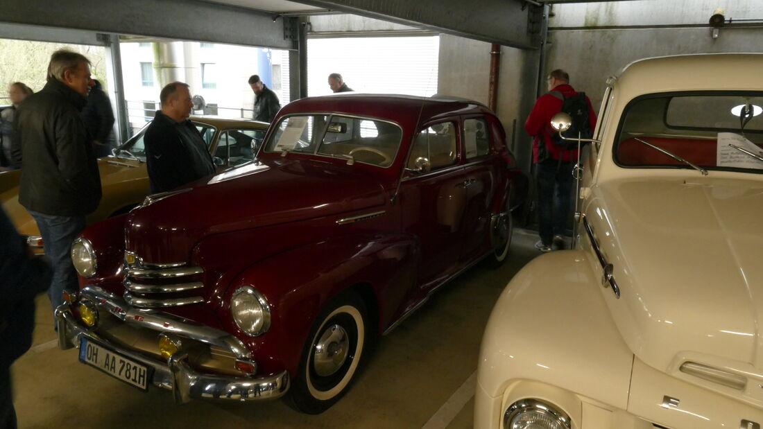 Opel Kapitän auf der Bremen Classic Motorshow 2020