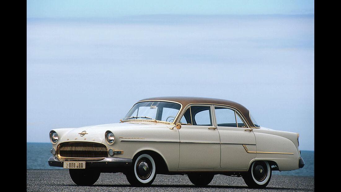 Opel Kapitän, teilweise vergoldetet, 1956
