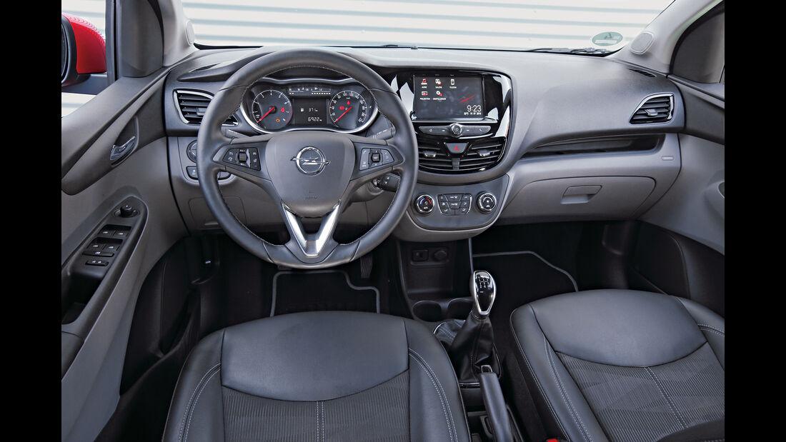 Opel Karl 1.0, Cockpit