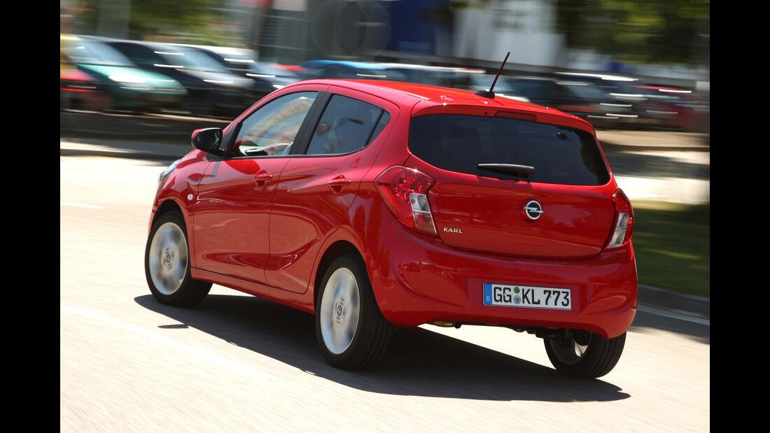 Opel Karl 1.0, Heckansicht