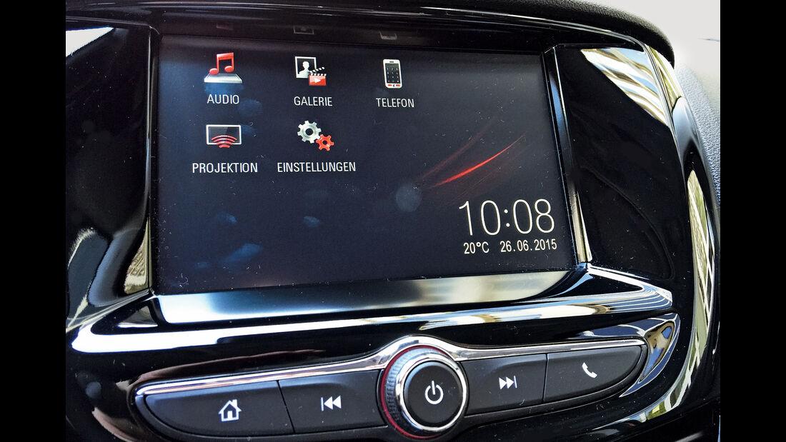 Opel Karl 1.0, Infotainment