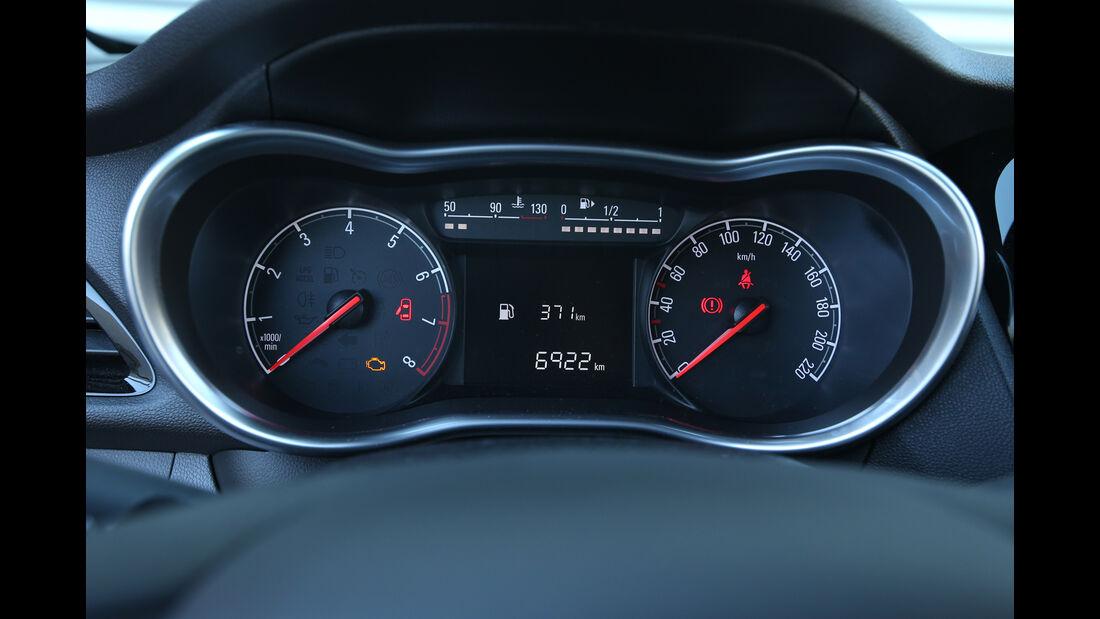Opel Karl 1.0, Rundinstrumente