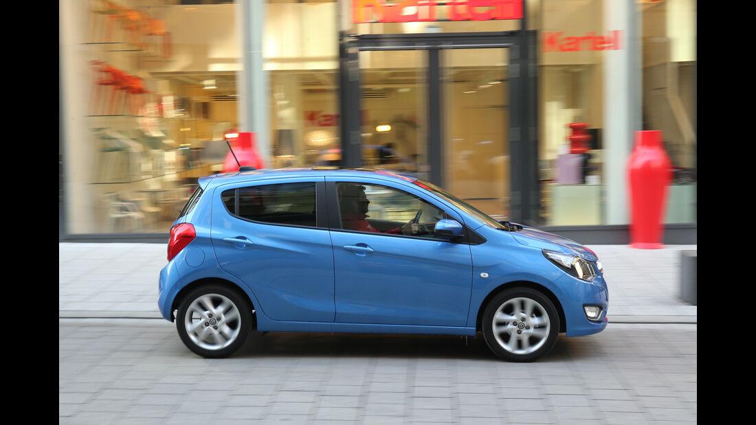 Opel Karl 1.0, Seitenansicht