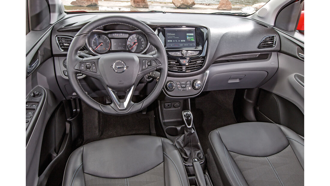 Opel Karl 2015 Cockpit