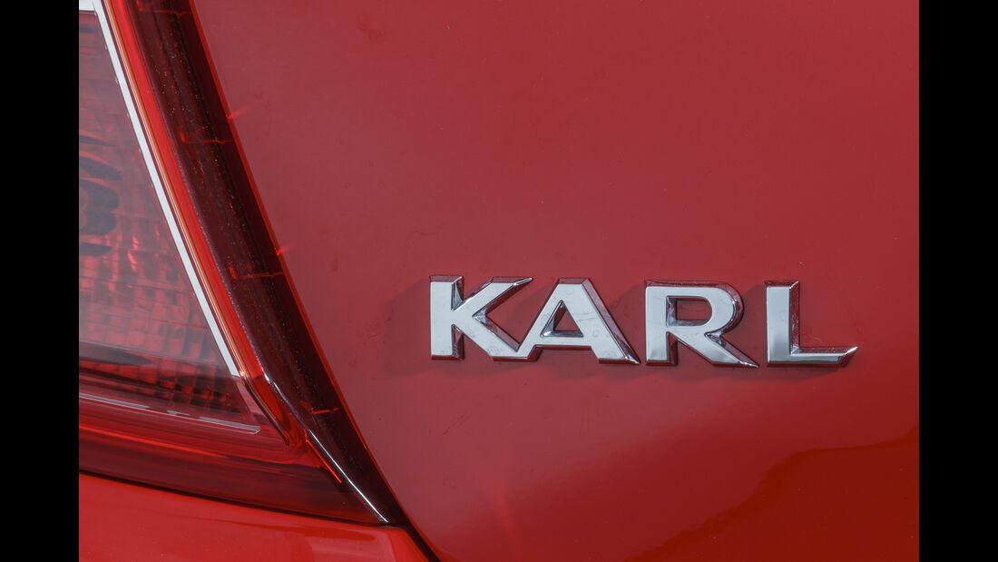 Opel Karl 2015, Emblem
