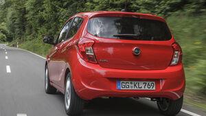 Opel Karl 2015, Heck