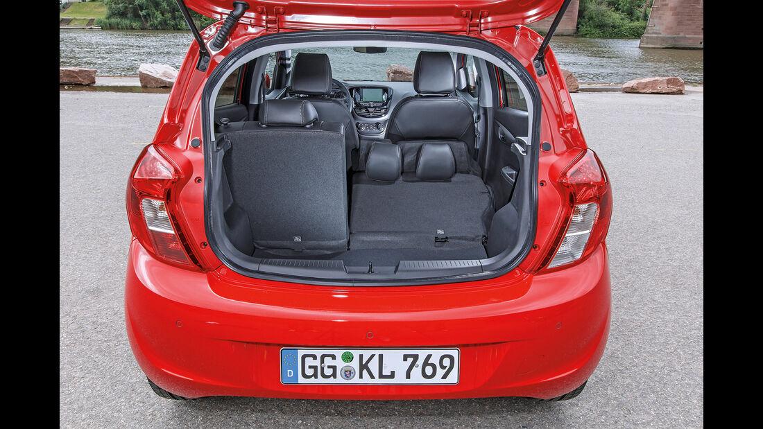 Opel Karl 2015, Kofferraum
