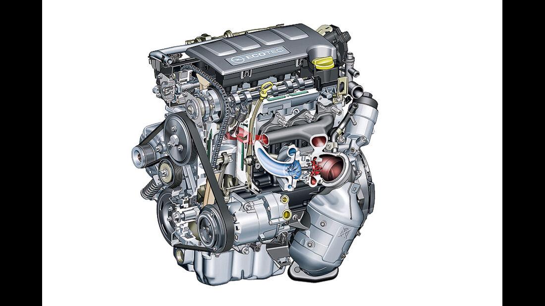 Opel LPG-Turbomotor