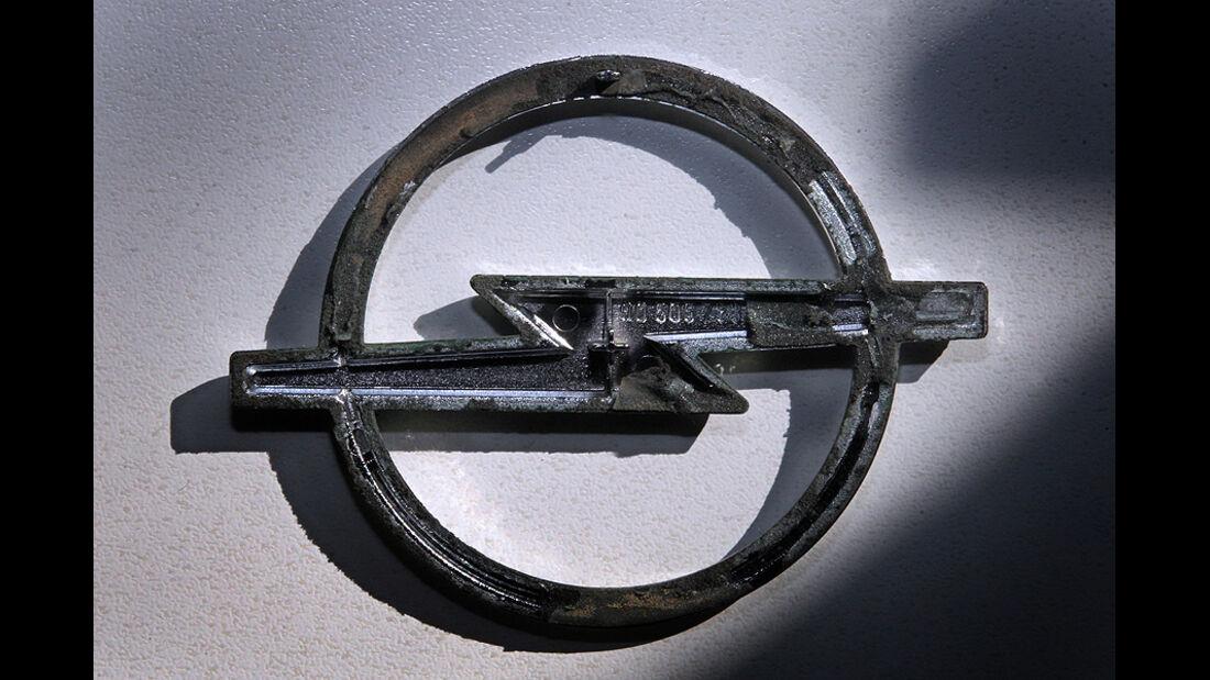 Opel Logo frostig