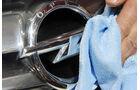 Opel Logo poliert