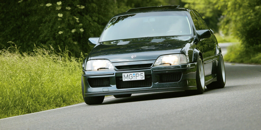 Opel Lotus Omega, Frontansicht