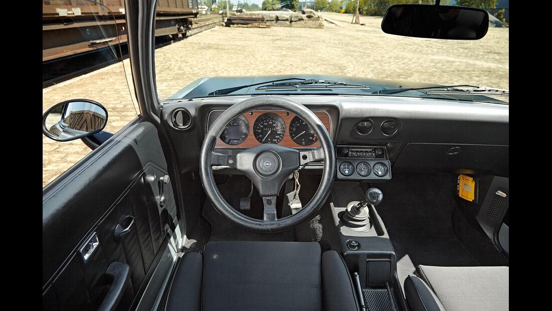 Opel Manta A, Cockpit