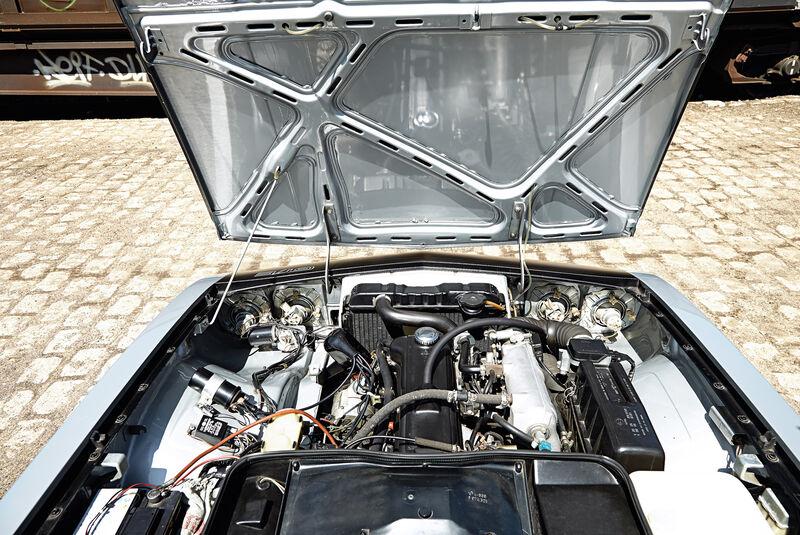 Opel Manta A, Motor