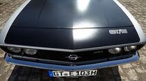 Opel Manta A, Motorhaube