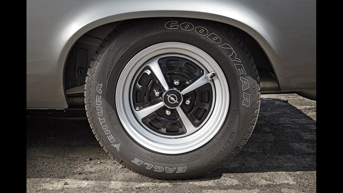 Opel Manta A, Rad, Felge