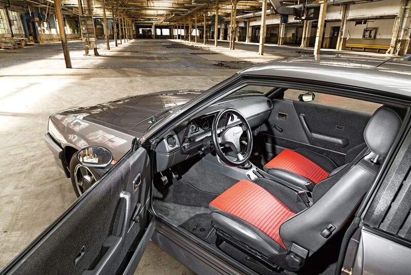Opel Manta B, Cockpit, Fahrersitz