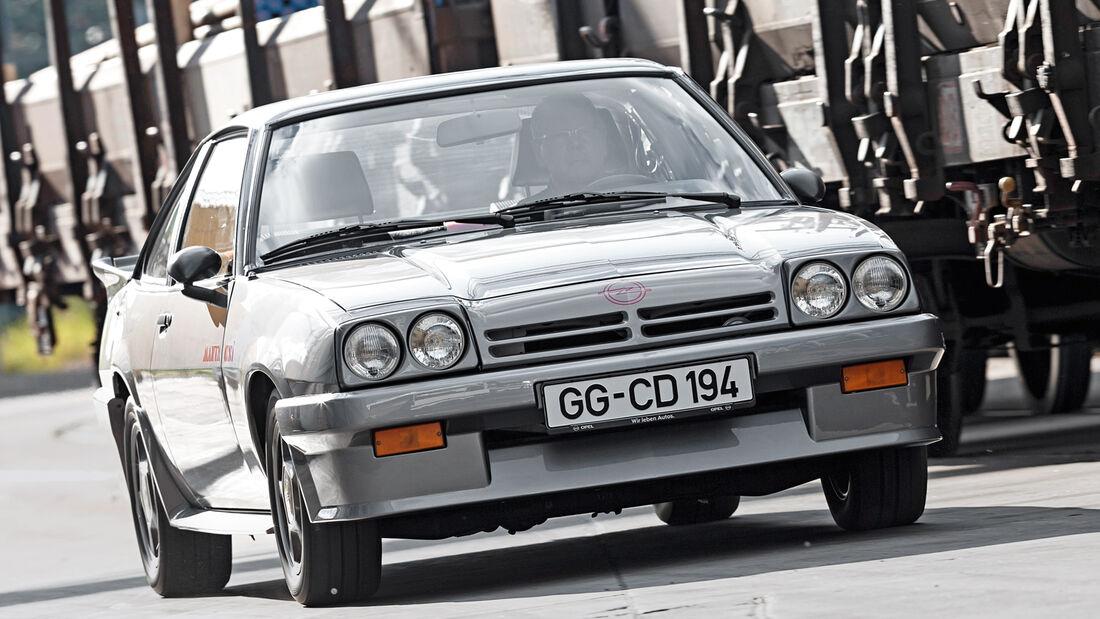 Opel Manta B, Frontansicht