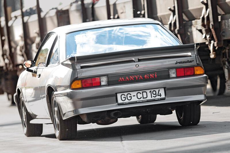 Opel Manta B, Heckansicht