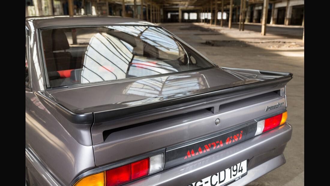 Opel Manta B, Heckspoiler, Heckleuchte