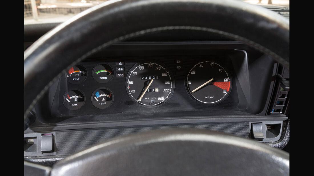 Opel Manta B, Rundinstrumente