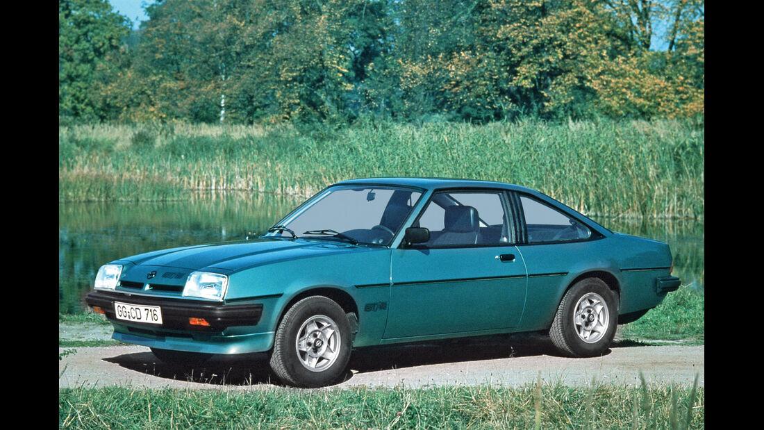 Opel Manta B, Seitenansicht