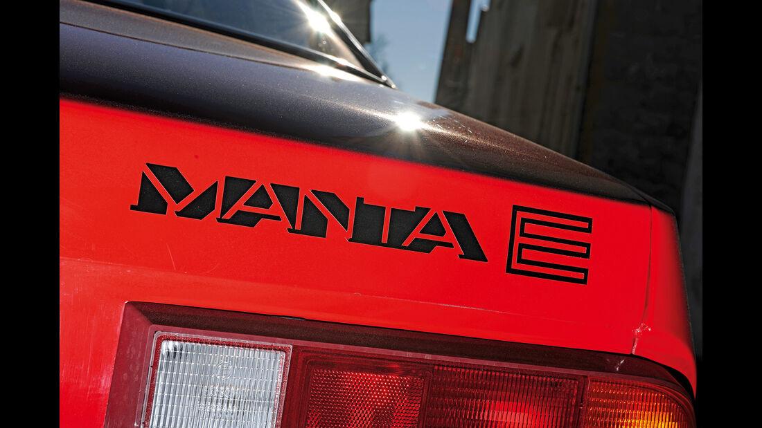 Opel Manta E Berlinetta, Typenbezeichnung