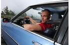 Opel Manta, Fahrersicht