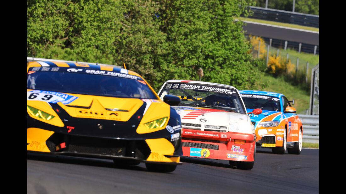 Opel Manta - Freies Training - 24h-Rennen Nürburgring 2017 - Nordschleife