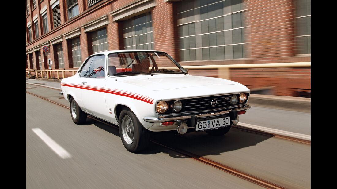 Opel Manta, Frontansicht