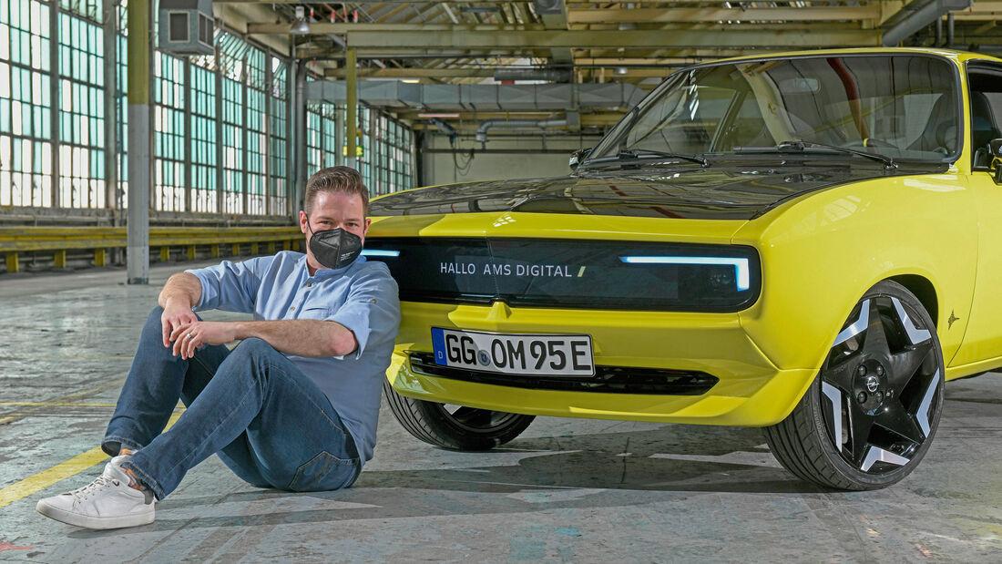 Opel Manta GSe ElektroMOD 2021