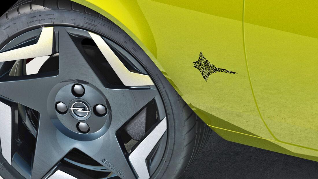 Opel Manta GSe ElektroMOD Logo QR-Code