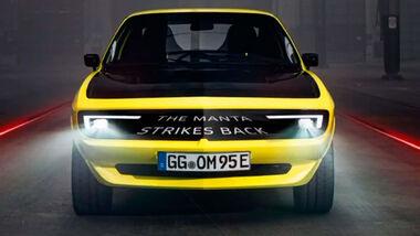 Opel Manta GSe ElektroMOD Strikes Back
