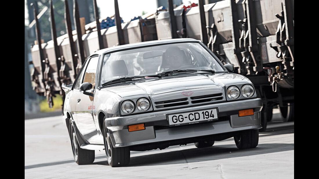 Opel Manta GSi, Frontansicht
