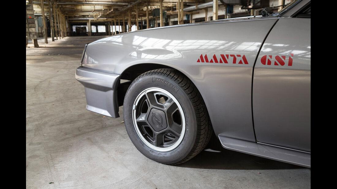 Opel Manta GSi, Rad, Felge