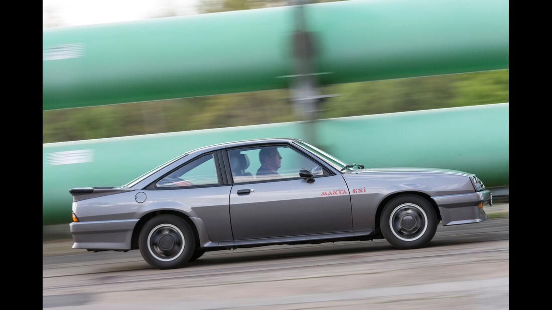Opel Manta GSi, Seitenansicht