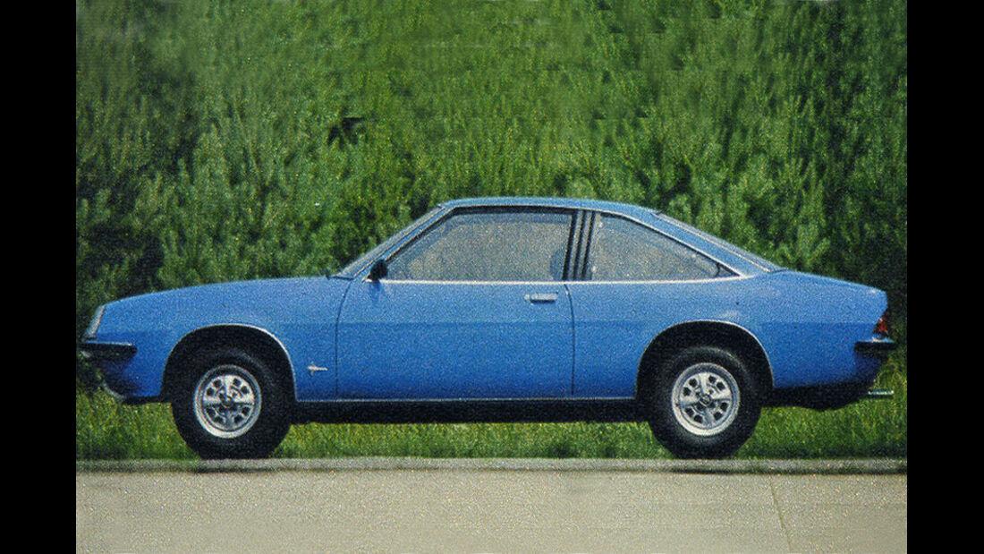 Opel, Manta, IAA 1977