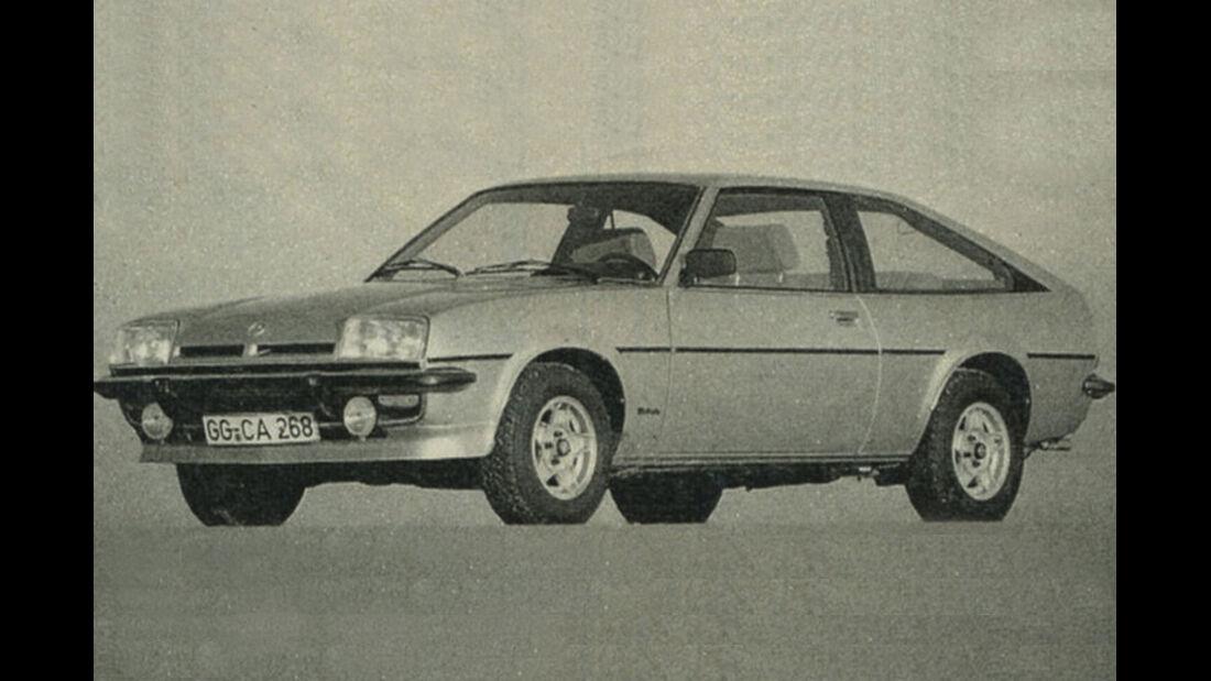 Opel, Manta, IAA 1981