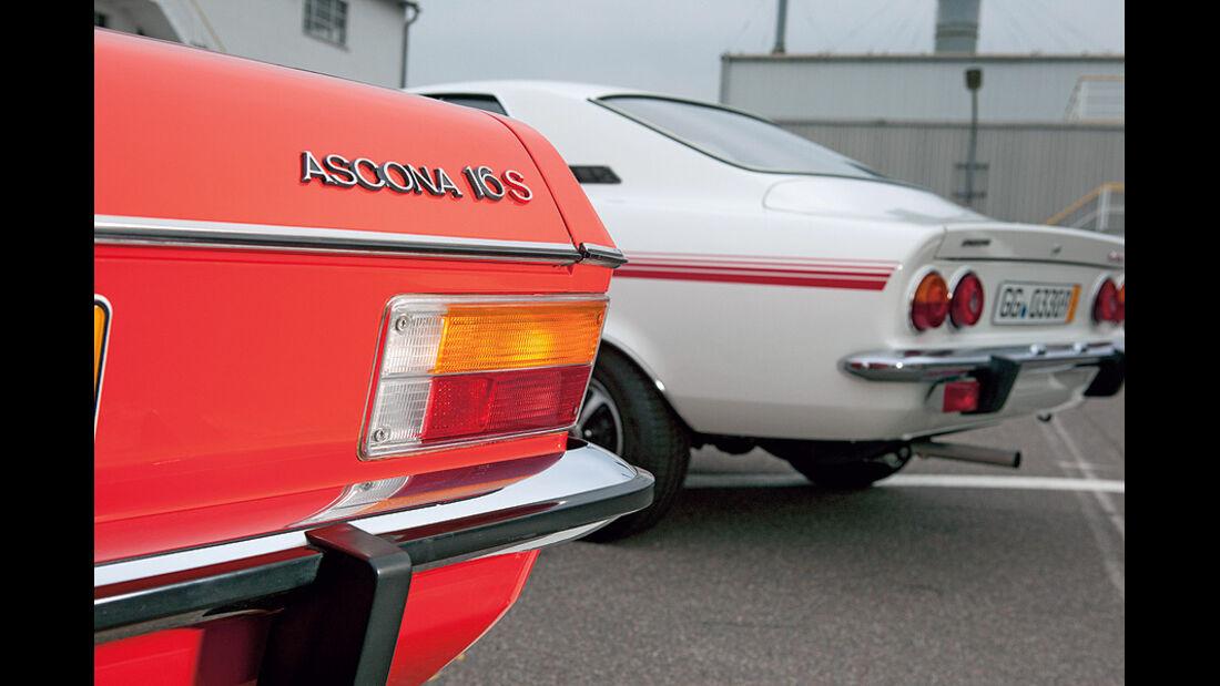 Opel Manta, Opel Ascona