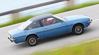 Opel Manta, Seitenansicht