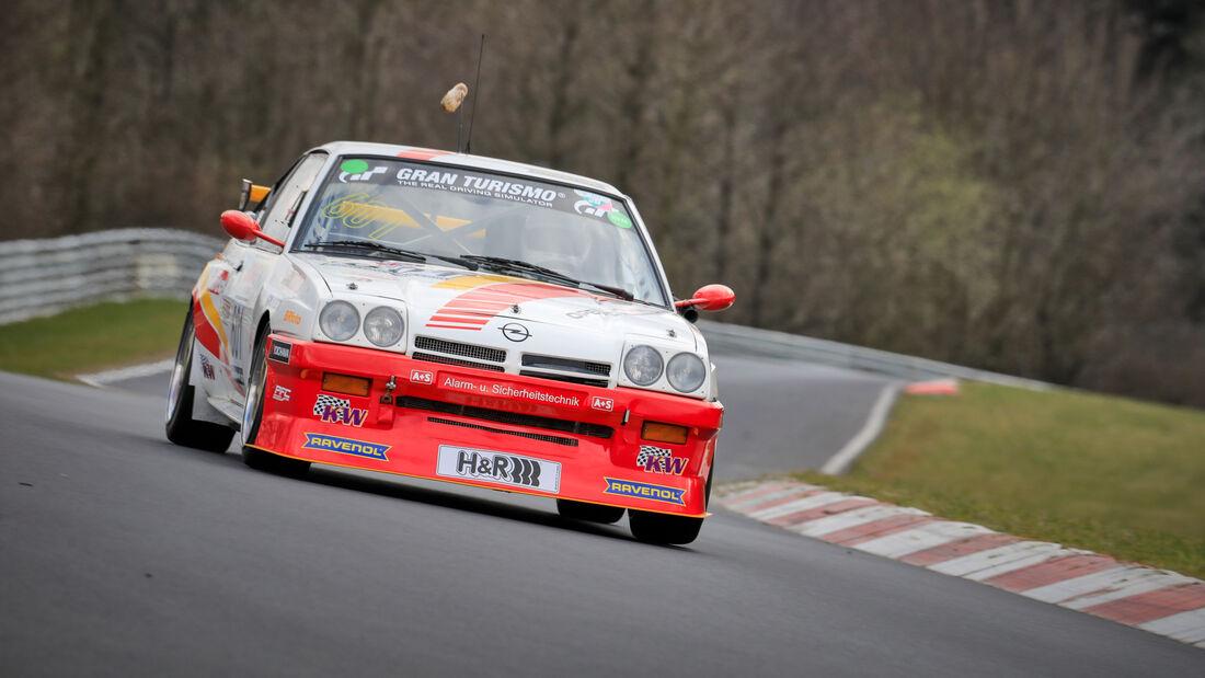 Opel Manta - Startnummer #601 - Automobilclub von Deutschland - H2 - NLS 2021 - Langstreckenmeisterschaft - Nürburgring - Nordschleife