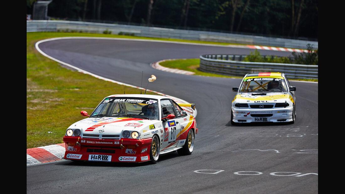 Opel Manta - VLN Nürburgring - 6. Lauf - 2. August 2014