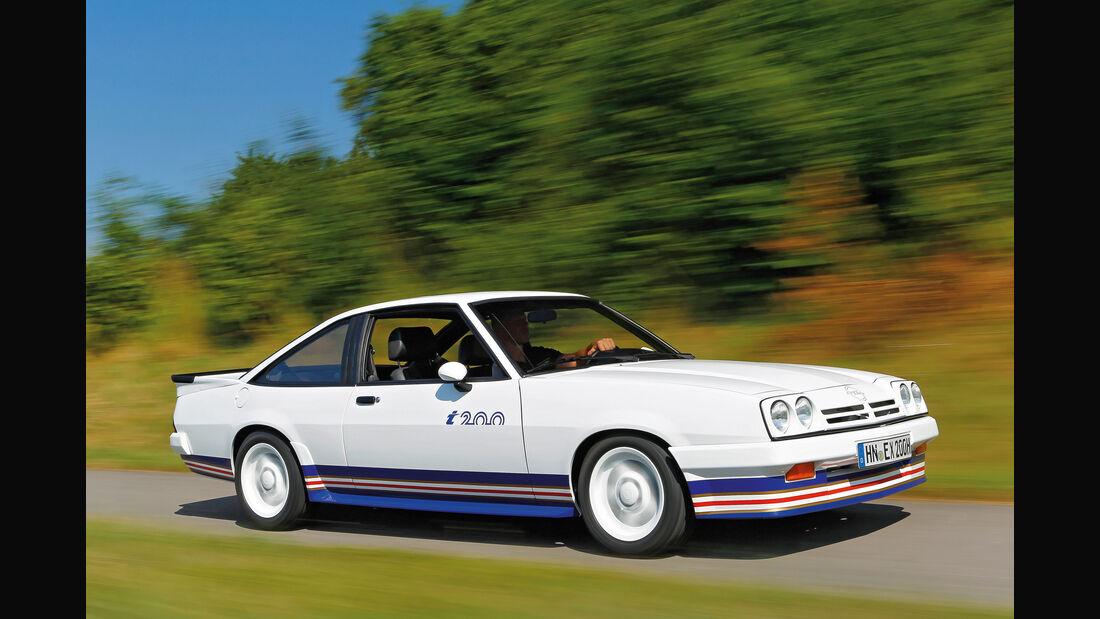 Opel Manta i200, Seitenansicht