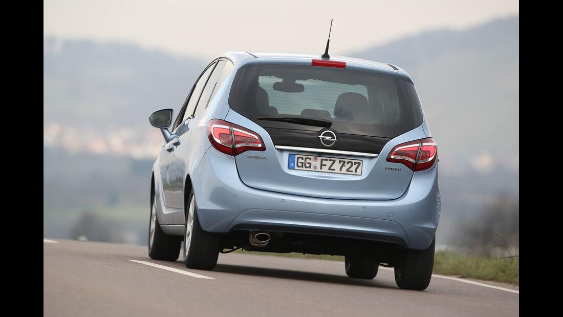 Opel Meriva 1.4 Innovation, Heckansicht