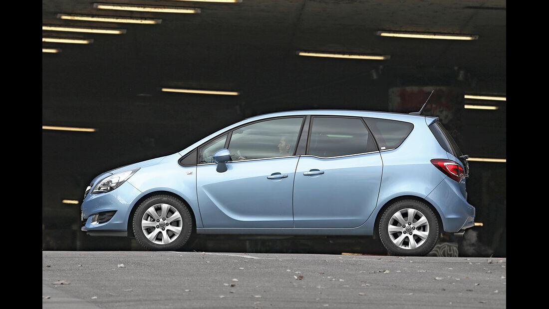 Opel Meriva 1.4 Innovation, Seitenansicht
