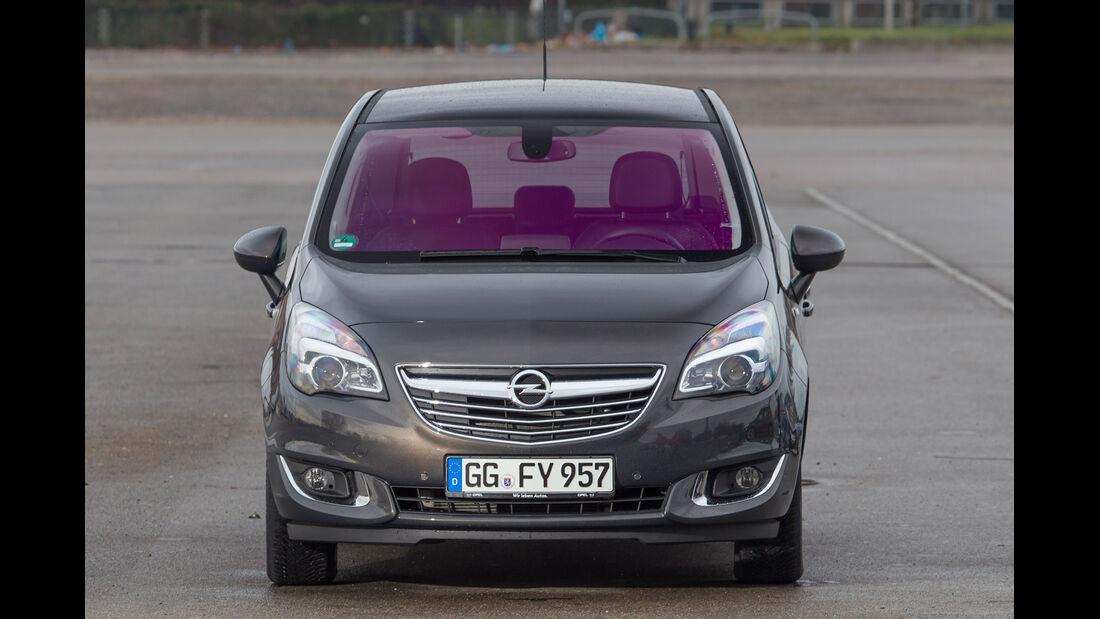 Opel Meriva 1.4 Selection, Frontansicht