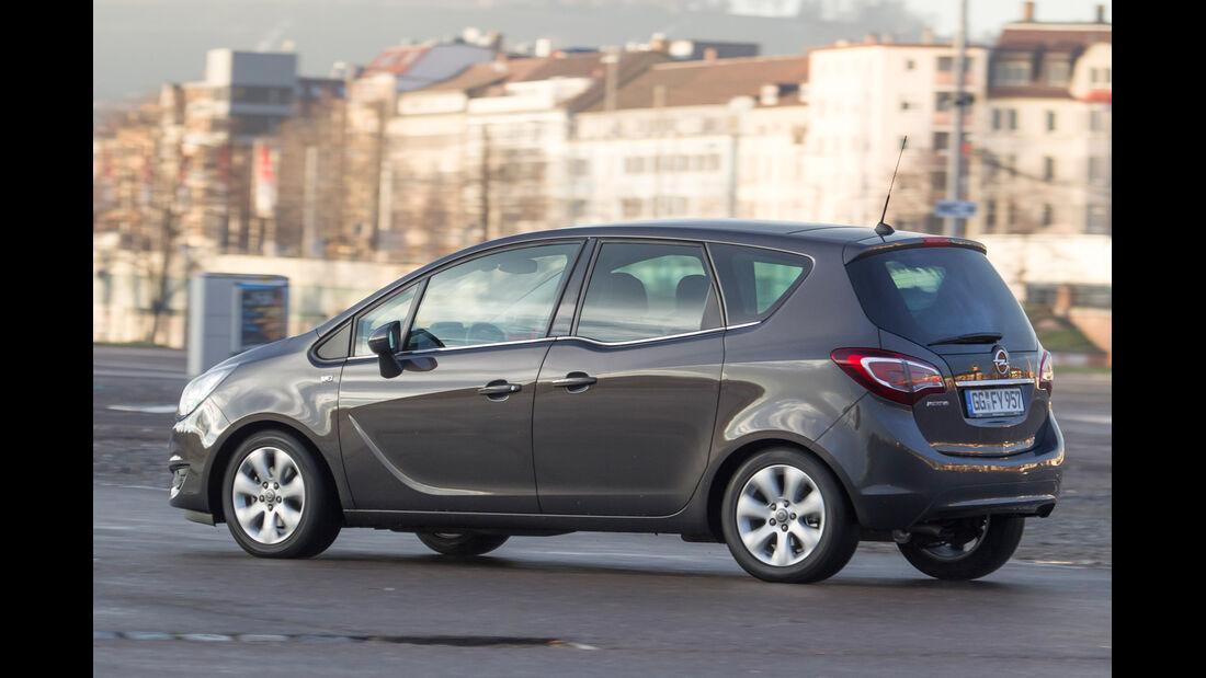 Opel Meriva 1.4 Selection, Heckansicht